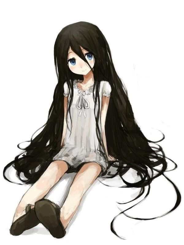 cute anime girls with black hair Google Search