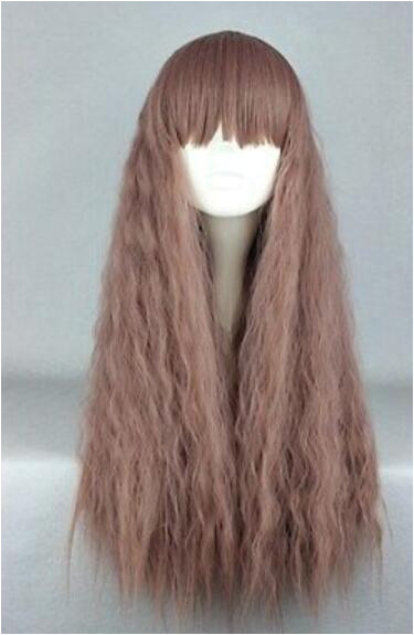 Lolita Long Brown Curly Stylish Anime Lovely Women Girl Cosplay Hair Wig Hairpieces African Wigs From Dingyingying8889 $25 11 DHgate