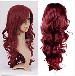 Anime Hairstyle Wig Red Anime Hair Wig Line Shopping