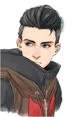 Could this be anyone Cole or Demian or a different villain Anime Hairstyles Male