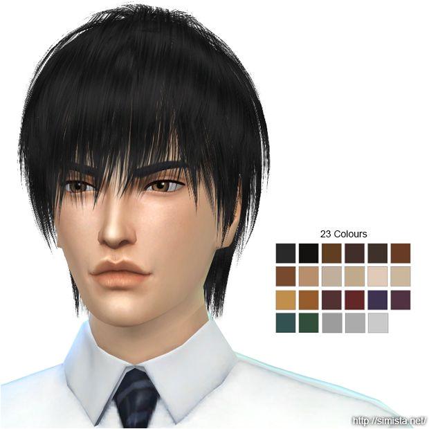 My Sims 4 Blog Sims 4 Hair Male Sims Hair Male Hair Sims