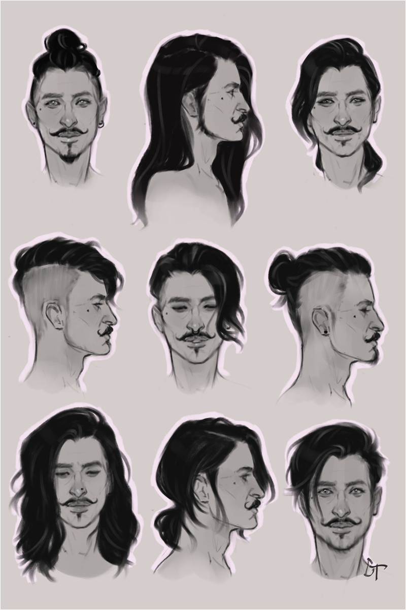 Practicing different hairstyles with this beautiful bastard dorian pavus dragon age inquisition