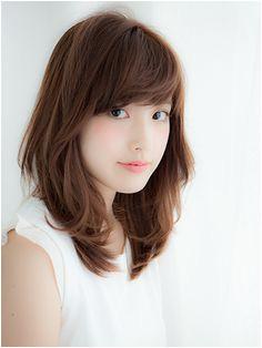 medium layered hair Japanese Haircut Japanese Hairstyle Japanese Perm Medium Layered Hair