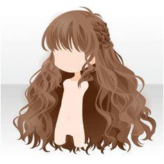 Princess Games Chibi Hair Anime Hairstyles Girl Hairstyles Hair Drawings Drawing Hair How To Draw Hair Anime Eyes Hair Reference