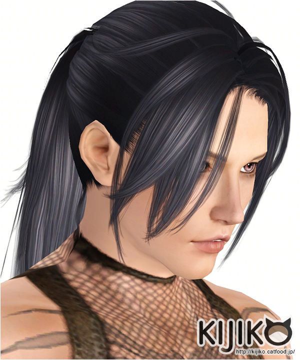 Hototogisu hair for males by Kijiko Sims 3 Downloads CC Caboodle