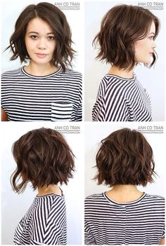 ShortHair WavyHair Hairstyles Anh Co Tran Bob click now