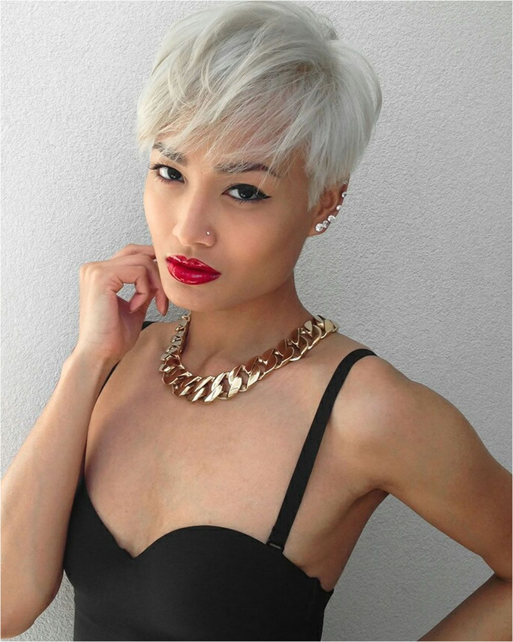 Pixie haircuts for Asian women