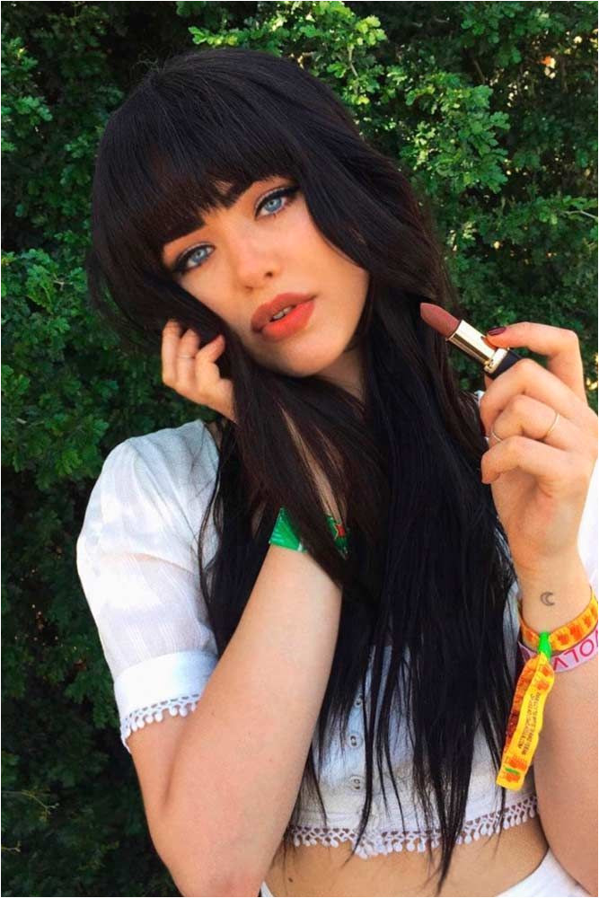 y Hairstyles with Bangs for Every Hair Type ☆ See more