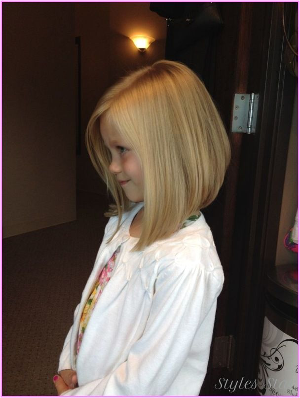 awesome little girls haircut angled bob more little girls hair cut little girl
