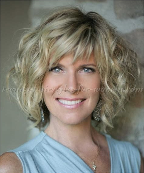 Image result for Medium Curly hair Styles For Women Over 40
