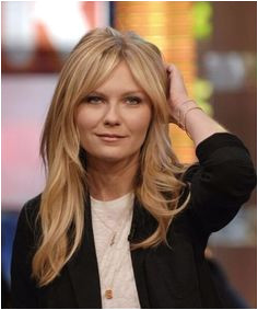 kirsten dunst haircuts for round faces Bangs For Round Face Long Hair With Bangs