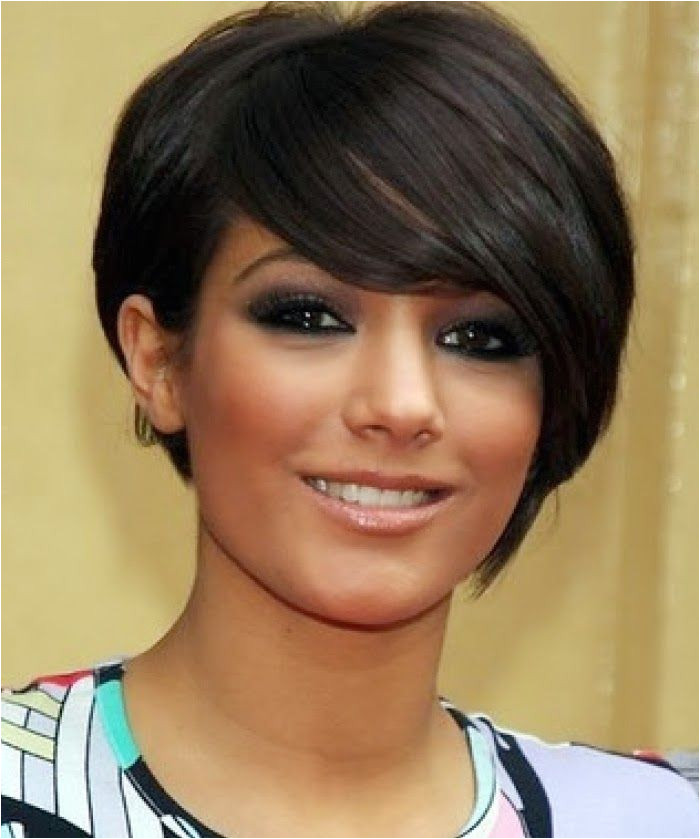 short haircut round face thick hair incredible