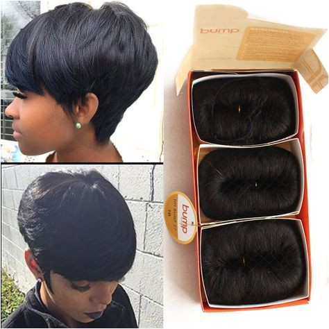 Free Shipping 27 Pieces Short Hair Weave With Free Closure 27 Piece Weave Hair 7A BrazilianHuman Hair Short Bump