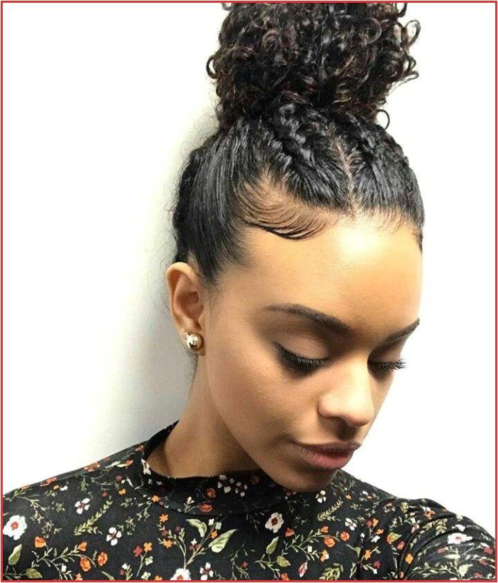 Black Hairstyles Buns with Bangs Black Natural Hair Cuts I Pinimg originals Cd B3 0d