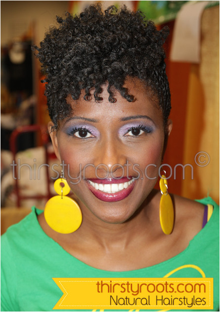 Natural Hairstyles for Black Women 50