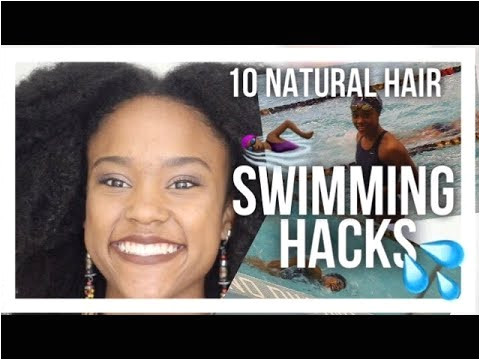 10 Natural Hair Swimming Hacks from a petitive Swimmer