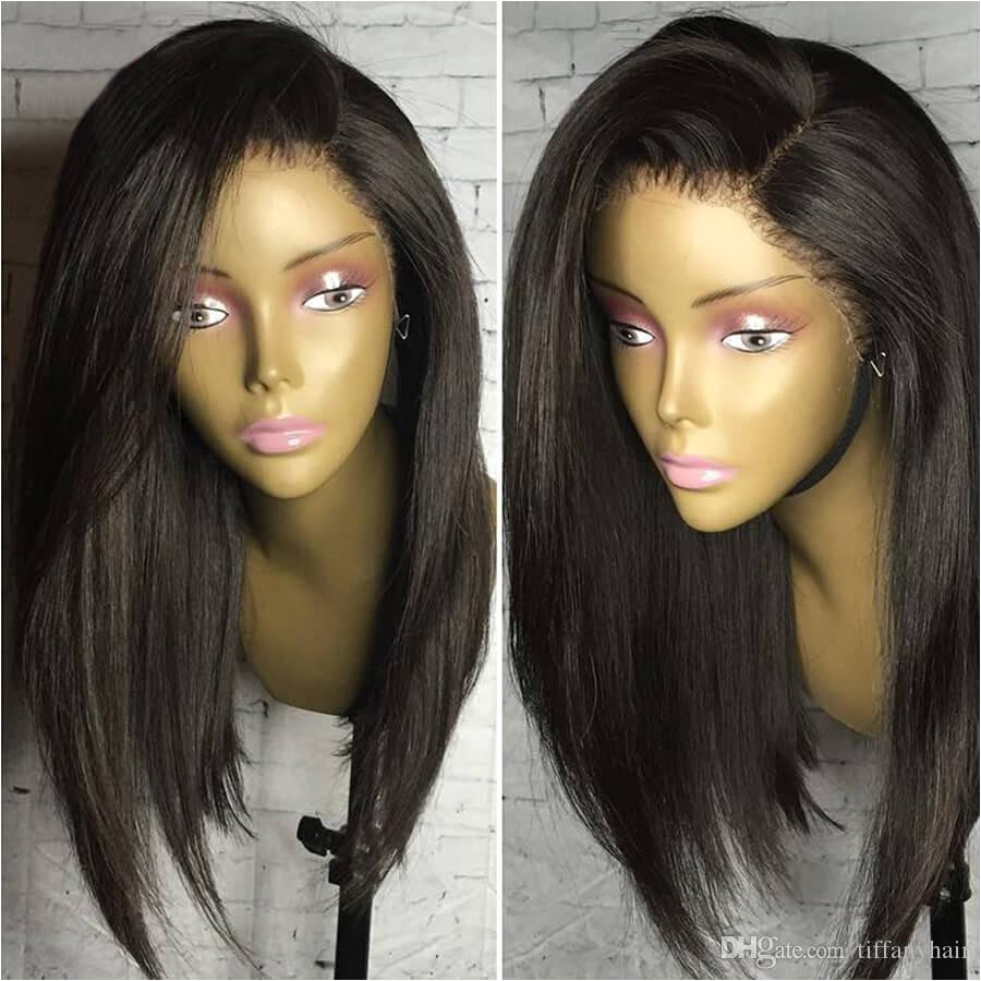 Black Hairstyles Lace Front Wigs Lace Front Wigs 8 20inch Straight Texture 9a Class Full Lace Wigs