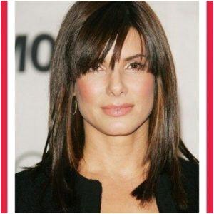 Layered Hairstyles Bangs Med Length Haircuts Best Shoulder Length Hairstyles with Bangs 0d