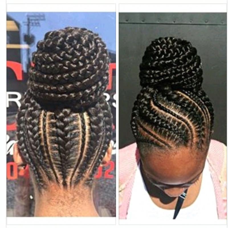 "Cornrow Updo Hairstyles Fresh Pin Od Pou…¾vate""¾a Karin Hardin Na Nástenke Women"