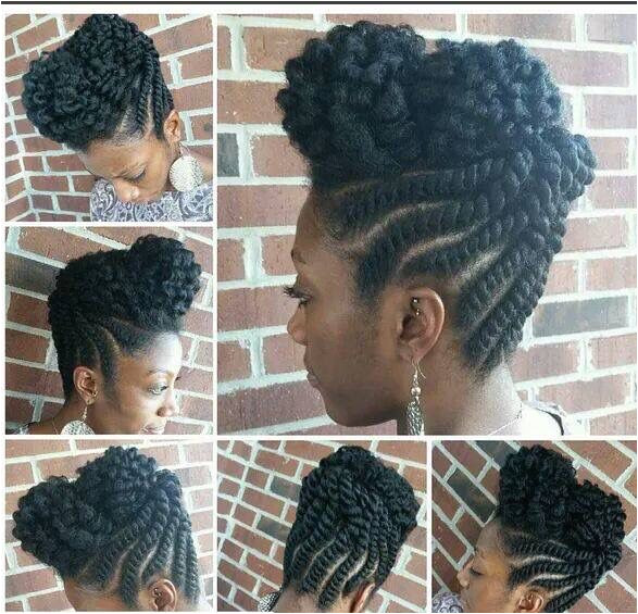 These 3 Cute Flat Twist Hairstyles Take Winning Prize – For Being Some The Best Back To School Styles Ever Twist