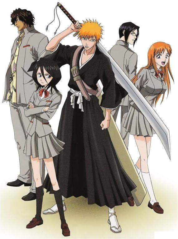 the original group i love this show way too much Bleach line