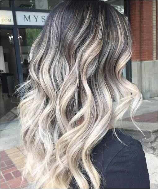 70 Flattering Balayage Hair Color Ideas for 2018 Ideas Black and Blonde Hairstyles