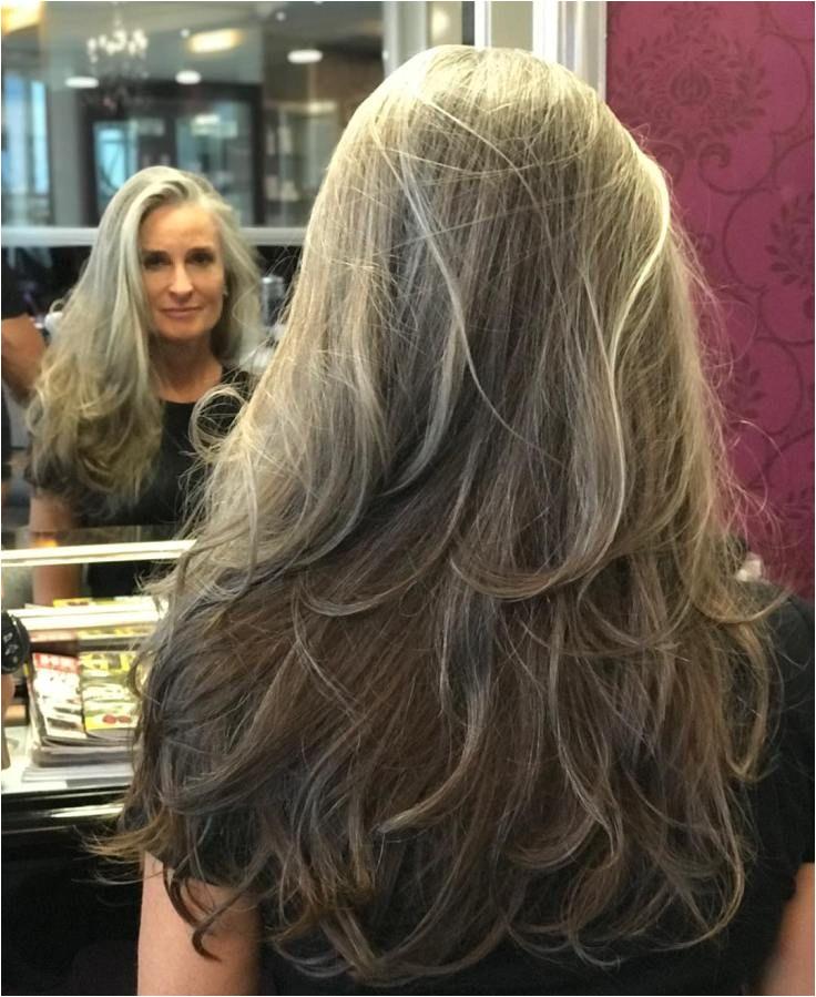 Gorgeous Long Layered Dark Ash Blonde Hairstyle