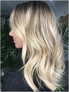 RE NU HAIR STUDIO Leicester UK Midi blonde balayage with soft layering Perfect winter hair