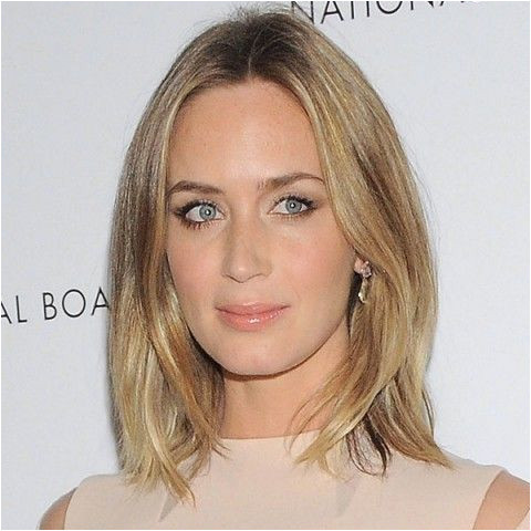Emily Blunt with ash blonde highlights Hair Colour Autumn Winter 2013