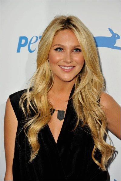 Blonde Hairstyles Celebrities Stephanie Pratts Long Blonde Hairstyle