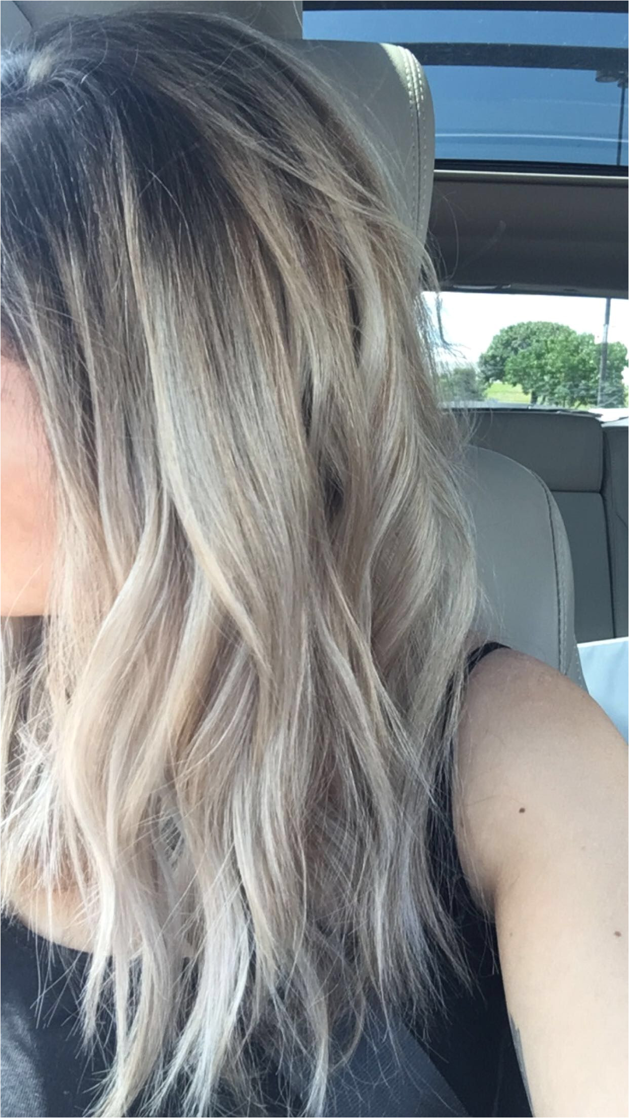 Blonde Hairstyles Dark Roots Blonde Hair Dark Roots Ombré Hair Pinterest