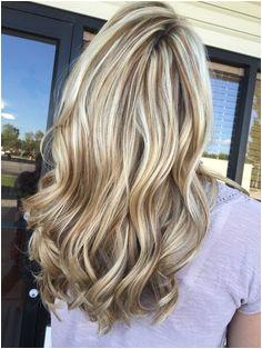 Block Cool Blonde Hair Blonde Highlights Brown Hair Blonde Lowlights And Highlights