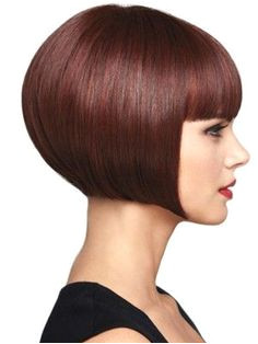 Very perfect bob haircut Short Bob Styles Medium Hair Styles Bob With Bangs