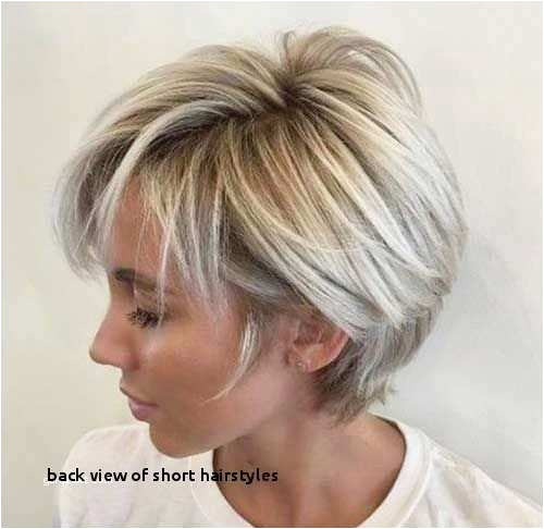 Cool Short Hairstyles Girls Fresh Bob Hairstyles Back View Fascinating Back Hair Colors From Cool