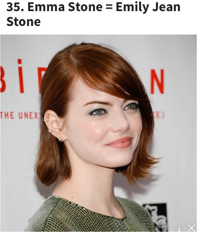 "She originally changed her name to Riley Stone when she found that an ""Emily Stone"" was already registered with the Screen Actor s Guild"