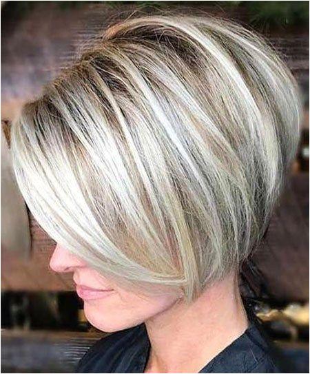 Blonde Short Bob Haircut Short Bob Haircuts 2019