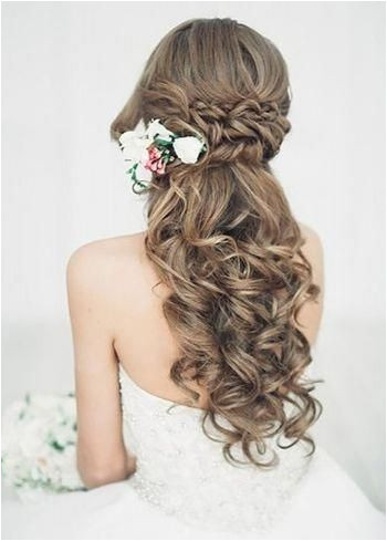 Half up half down wedding hairstyles updo for long hair for medium length for bridemaids hair hairstyles haircolor haircut wedding webdesign