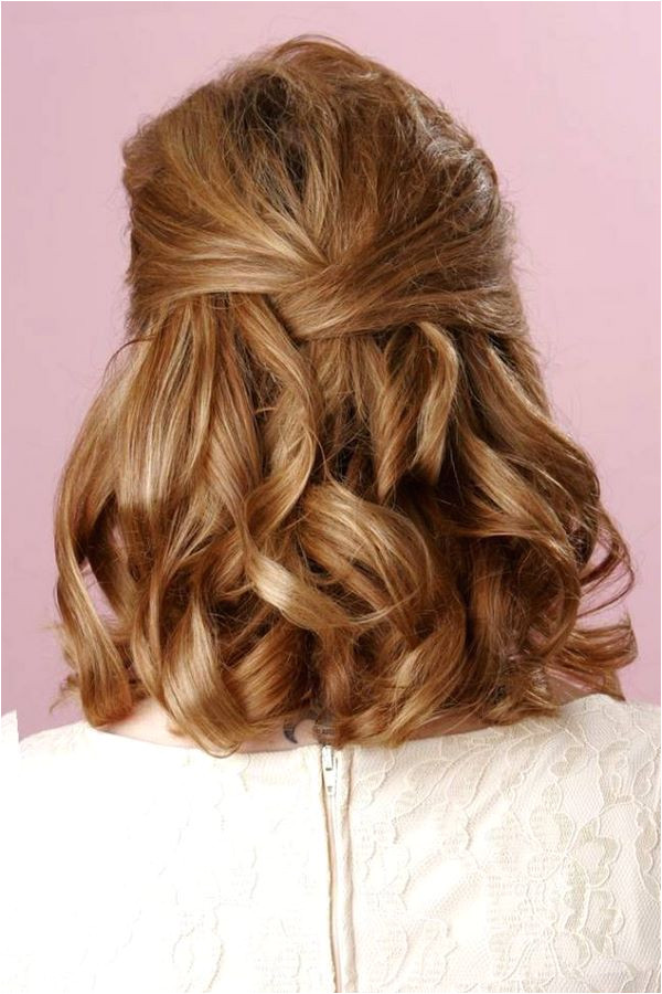 Image result for mother of the bride hairstyles half up Medium Length