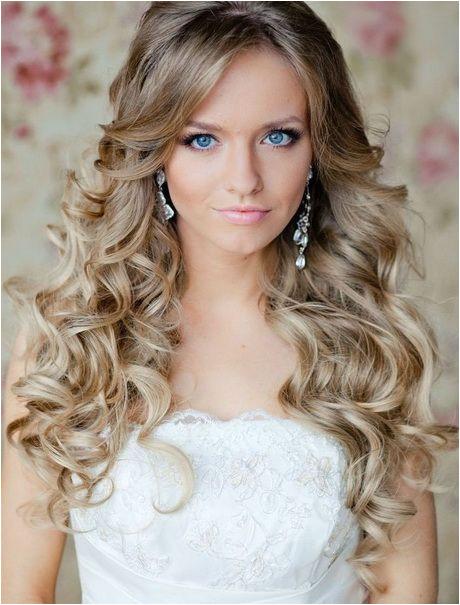 Curly Hochzeit Frisuren für langes Haar curly frisuren hochzeit langes Locken in 2018 Pinterest