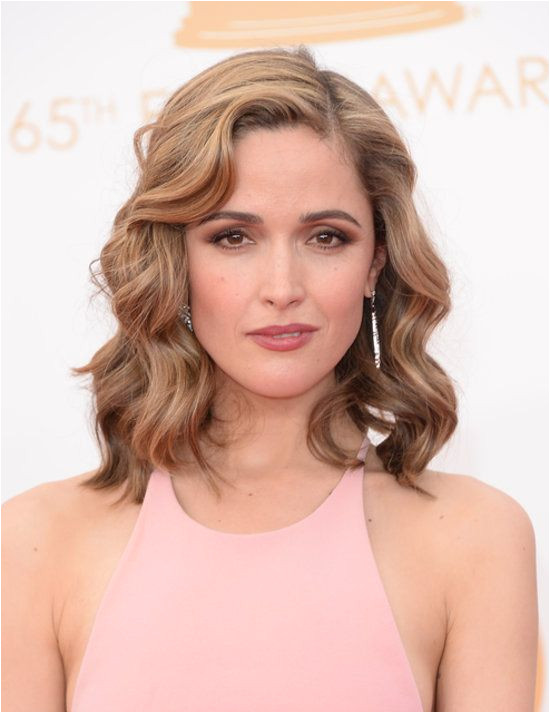 Wedding Hairstyles All Down All down but curly Rose Byrne s Emmys hairstyle looked modern thanks to the height at the front