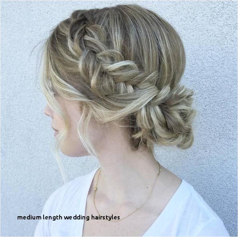 Bridal Hairstyles Half Updo Medium Length Wedding Hairstyles Bridal Hairstyle 0d Wedding Hair