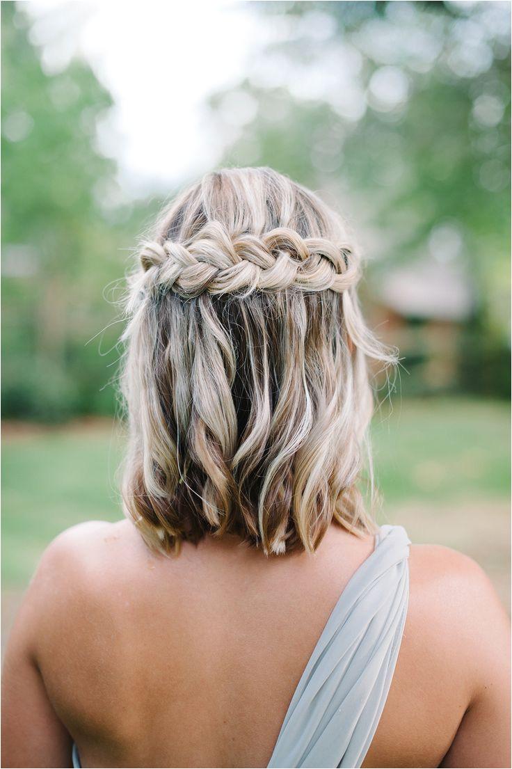 Beautiful Easy Going Wedding Beautiful Easy Going Wedding Short Hair