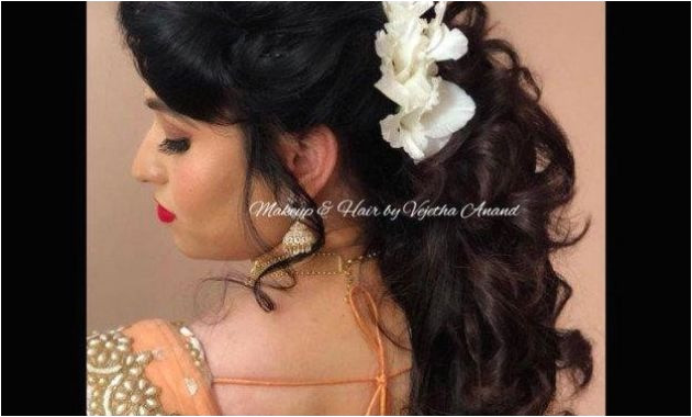 Down Hairstyles for Wedding Indian Wedding Hairstyles New Lehenga Hairstyle 0d Concept Indian