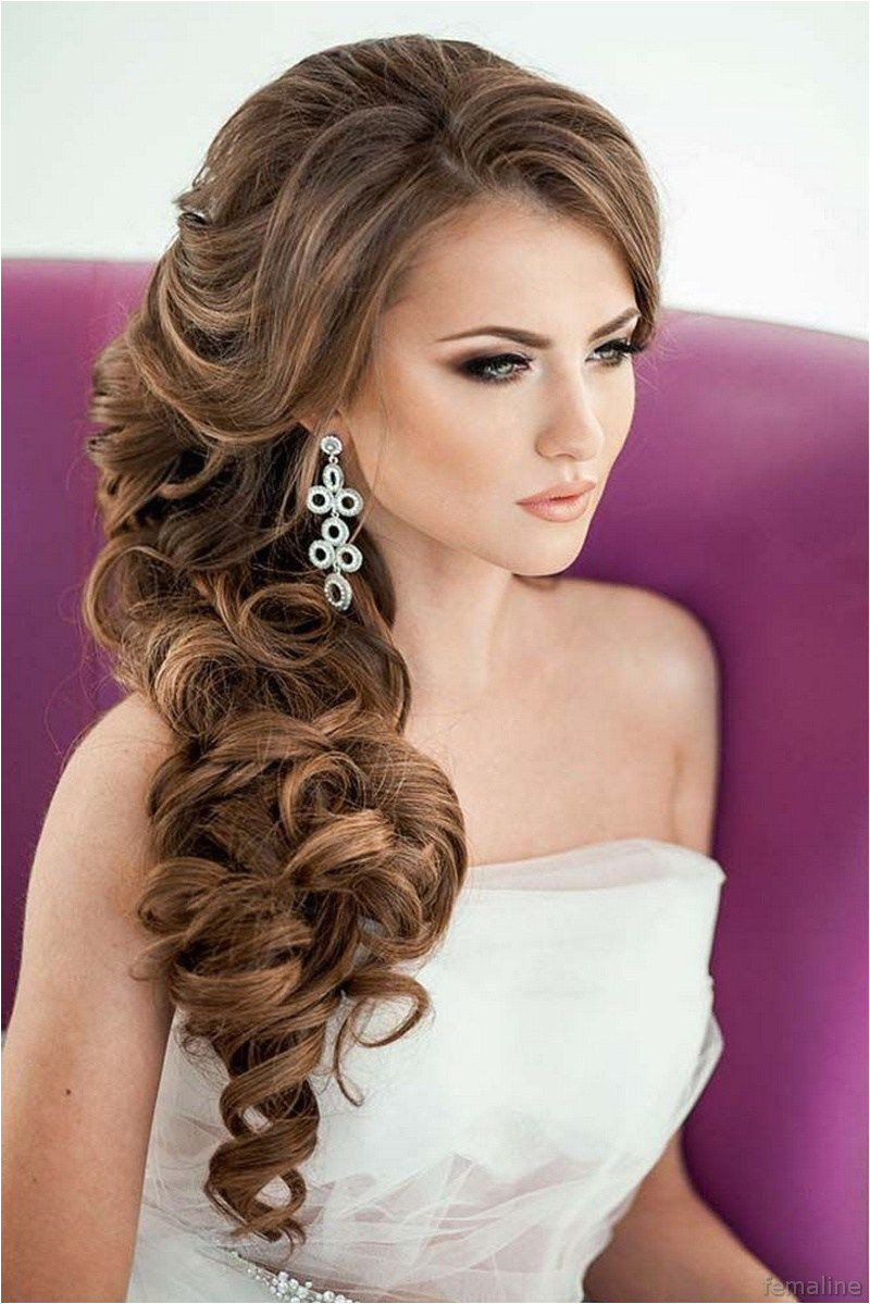 Elegant bridal hairstyles for long hair 119