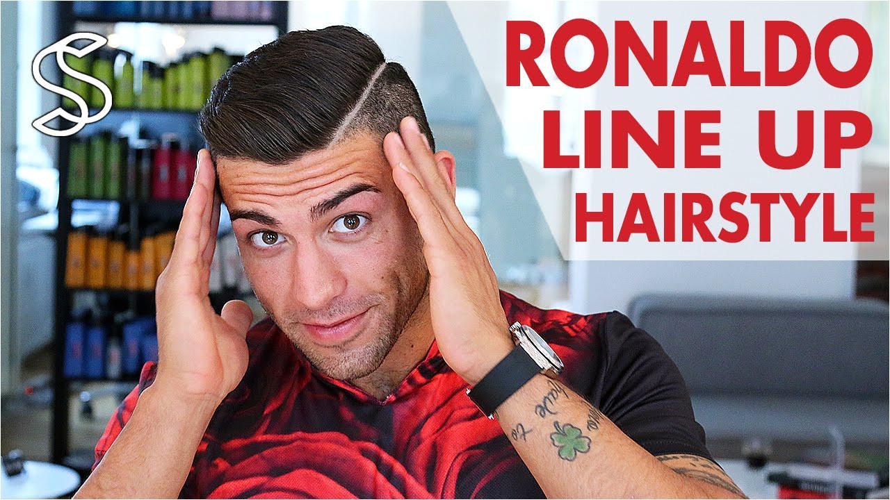 C Cut Hairstyle Back New Cristiano Ronaldo Hair Style 2015