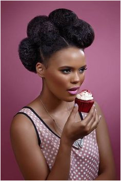 Big hair multiple pouf pompadour style Great for natural hair looks both casual