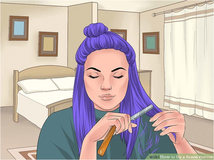 Image titled Do a Scene Haircut Step 18