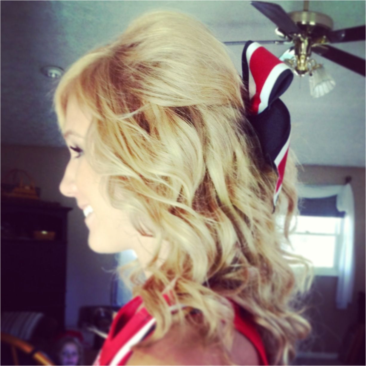 Cheer hair going to try this