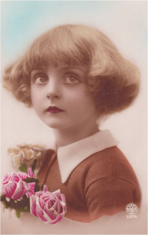 If I was born in the 20 s as i should have been I would be this child and have this hair
