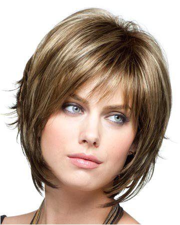 Chin Length Choppy Hairstyles Razor Cut Bob Hairstyles with Bangs